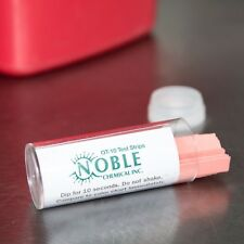 Noble Chemical QT-10 Quaternary Test Strips (100/Vial) - Buy More Save More!