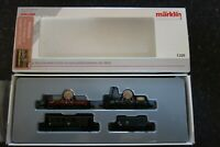 "Marklin spur z scale/gauge ""High Tension Current Train"" Car Set."