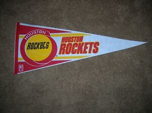 Houston Rockets 1990 full size pennant