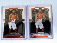 2019-20 Panini PRIZM Basketball Rui Hachimura Rookie Base Wizards RC 2 CARD LOT
