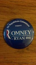 Official 2012 Republican National Convention DC DELEGATION Button Mitt Romney