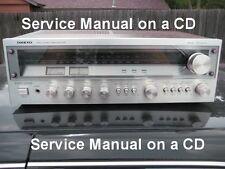 Onkyo Tx-2500Mkll Service Manual On Cd Free Shipping