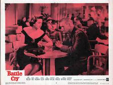 BATTLE CRY 11x14 TAB HUNTER/DOROTHY MALONE original lobby card poster