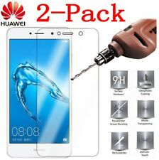 2Pc 9H Tempered Glass Screen Protector Cover Film For Huawei Y6 /Y7/Y9 2018 2017