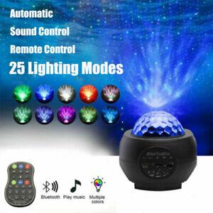 Blueteeth USB LED Galaxy Projector Starry Night Lamp Star Projection Night Light