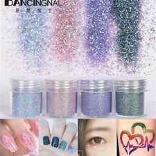 4Pcs/Pots Mixed Color Nail Art Glitter Powder Dust Acrylic UV Gel Manicure Tips