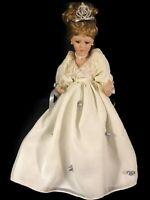 Princess Diana Porcelain Doll, No Box, Stand Included.