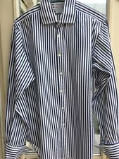 T.M.Lewin Single Cuff Regular Striped Formal Shirts for Men