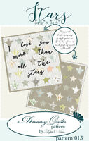 Quilt Pattern ~ STARS ~ by Lydia Nelson Dreamy Quilts