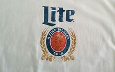 Miller Lite T Shirt Retro Logo Size Large.New