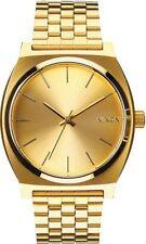 Relojes de pulsera de acero inoxidable resistente al agua para hombre