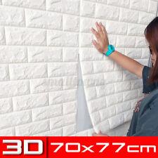 3D 77x70cm Kachel Ziegel Wandaufkleber Selbstklebend Wasserfest Foam Panel Dekor