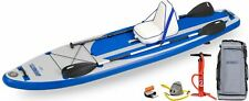 New Sea Eagle LB11K_D 11' Longboard Inflatable Paddleboard Deluxe Package