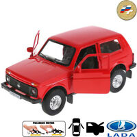 Diecast Metal Model Lada 4x4 VAZ-2121 Niva Russian Car Toy Die-cast Cars