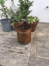 More details for vintage copper pot, planter