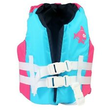 SwimWays Sea Squirts Fin Life Jacket Pink Child 30-50lb