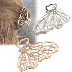Women Girls Geometric Alloy Large Hair Claws Hair Clips Hair AccessoN*jg