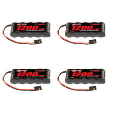 Venom 6V 1200mAh 5-Cell Flat Receiver NiMH Battery x4 Packs