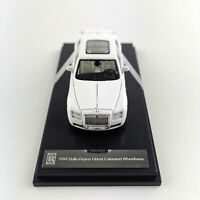 New 1:64 Scale Rolls Royce Ghost Extended Wheelbase White Car Model Collections