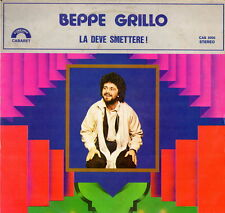 Beppe Grillo - the must stop! 1979 (Vinyl = NM) LP 12""