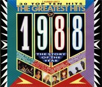 THE GREATEST HITS OF 1988 various (2x CD, Compilation) Disco, Hip Hop, New Beat,