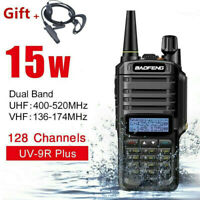 UV-9R Plus Baofeng VHF UHF Walkie Talkie Dual Band Handheld Two Way Radio RX