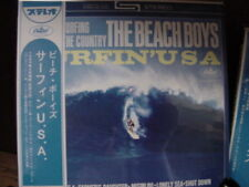 BEACH BOYS Surfin' U.S.A. RARE JAPAN REPLICA TO THE ORIGINAL LP IN A OBI CD