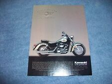 "2000 Kawasaki Vulcan Classic Motorcycle Ad ""It's Not So Much An Idle..."""