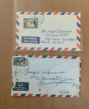 LIBAN FRENCH COLONIES  ZGHARTA  & BATROUN CANCEL USED COVER LOT (LEB 103)