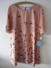 Ce Ce Cynthia Steffe Pansy Flower Isn't She Lovely Ginger Dress Tunic NWT SZ XL