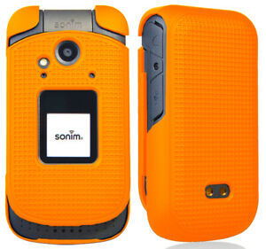 Grid Texture Snap-On Protective Case Slim Cover for Sonim XP3 Phone (XP3800)