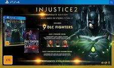 Injustice 2 Ultimate Edition PS4 PAL *NEW*+Warranty!!