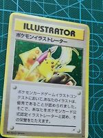 Pikachu Illustrator Pokemon Card in COSMO Holo not original