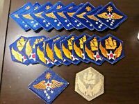 (20) Army Air Force Far East & 6th Color Insignia Patches Dealer Lot