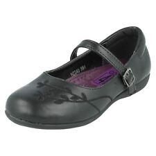 niña H2340 Sintético Negro Zapatos de Cool 4 SCHOOL Venta 12.99