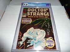 DOCTOR STRANGE #170 Marvel 1968 NIGHTMARE APP. CGC 7.5 CR/OW VF-