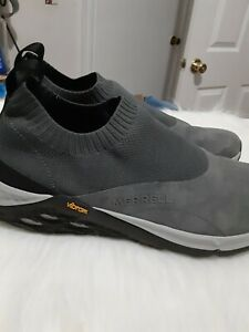 MERRELL Men shoes moc JUNGLE J97601 Light Gray / Dark Gray size 13