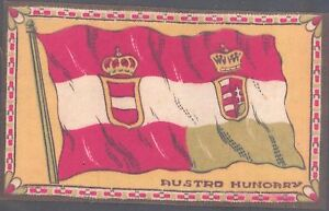 A T C (velveteen) - National Flags - Austro Hungary, orange background