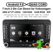 """7"""" Car Stereo GPS Navi Android 8.1 2 DIN For VW GOLF 5 V 6 PASSAT Tiguan Touran"""