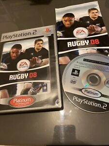 😍 jeu playsation 2 ps2 ps3 complet très bon état rugby 08 2008 ea sports