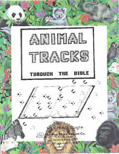Animal Tracks through the Bible Puppet Ministry Scripts, VBS,Christian Education