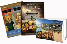 Jericho Wars of Humanity DVD Set stopmotion Christian Animated movie Lego pieces