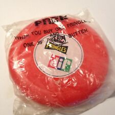Vintage Pringles Chips Jif Peanut Butter Red color Frisbee Toy