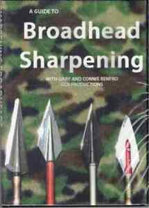 DVD: A GUIDE TO BROADHEAD SHARPENING WITH GARY & CONNIE RENFRO, GCR PRODUCTIONS