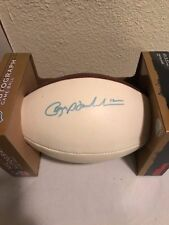 Roger Staubach Autograph Game Ball The Duke 00124642432 WILSON