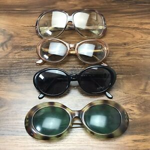 Vintage Made in Italy Eyeglasses Sunglasses Lot Brooks Brothers 60s 70s AS IS