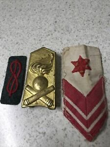 Italian ? Badges Captured AIF /ANZAC bring backs  WW2 Unidentified Set B Ref:S8