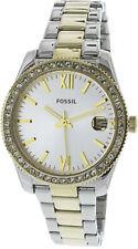 Fossil Women's Scarlette ES4319 Silver Stainless-Steel Japanese Quartz Dress ...