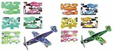 12x Styropor Flugzeuge zum zusammen bauen basteln Styroporflugzeug DIY SET NEU