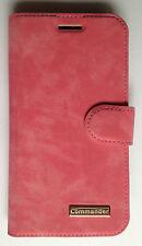 Commander Book Case Handy Tasche Samsung J510 Galaxy J5 (2016) Elite Nubuk Rose